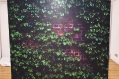 Hedge Brick Wall Backdrop