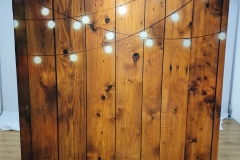 Wooden Lights Backdrop