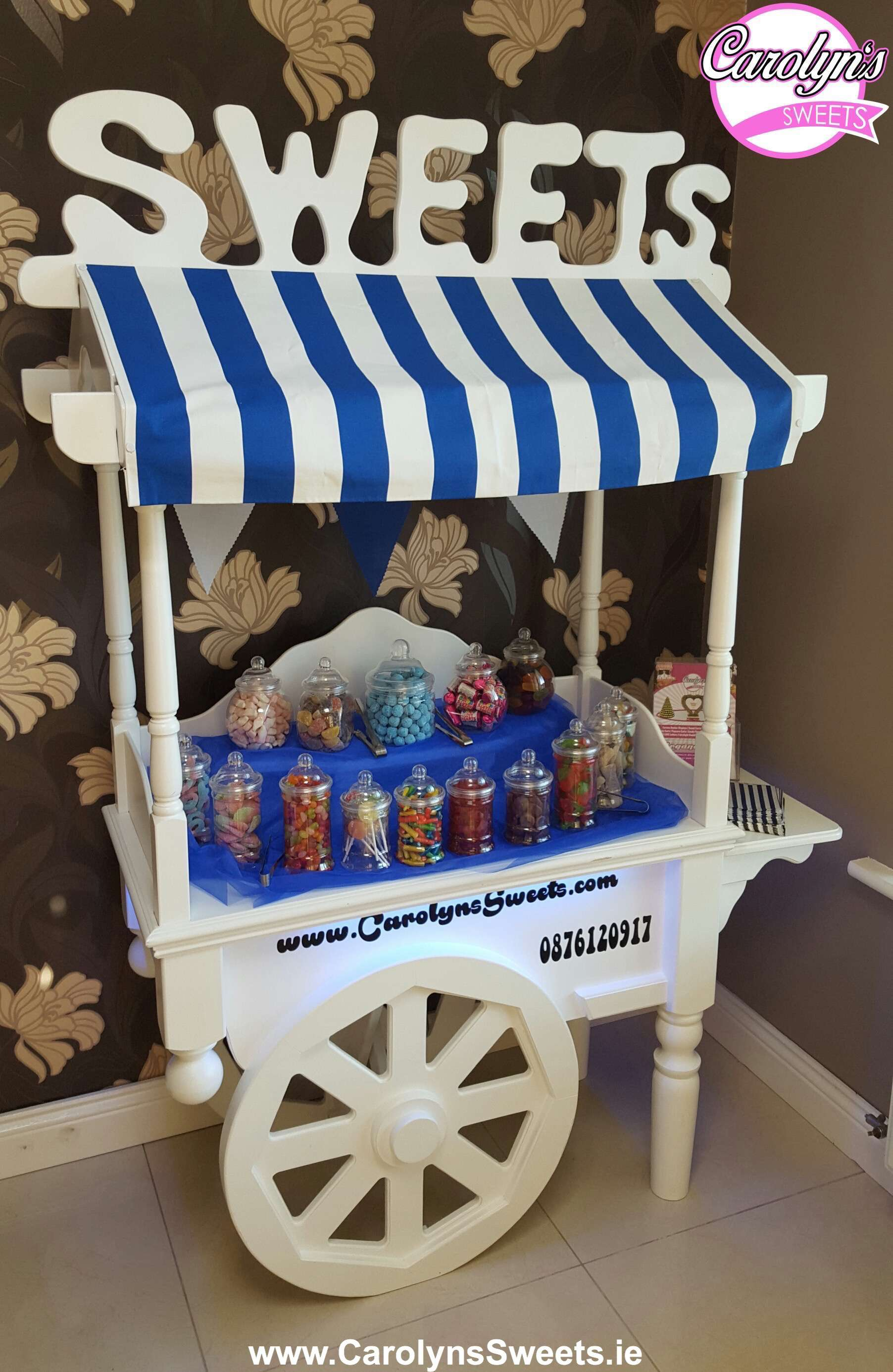 Luxury Candy Cart Hire By Carolyn S Sweets Prices From 175