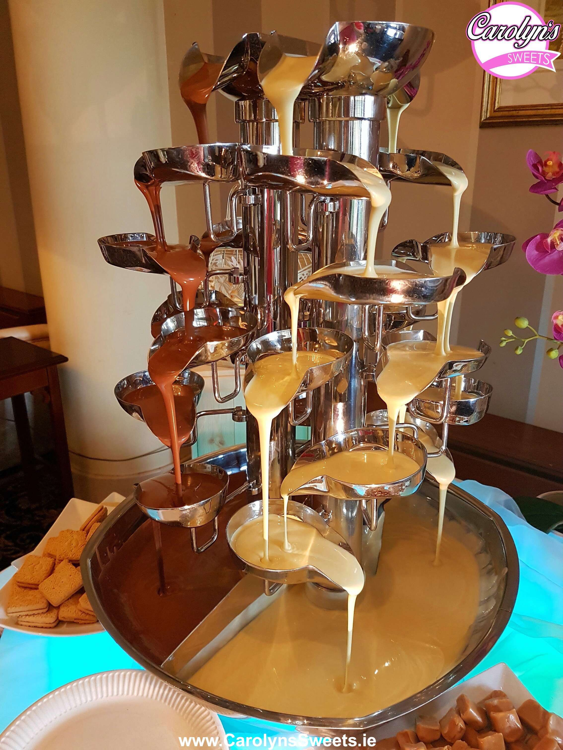 Double Chocolate Fountain Hire1 2
