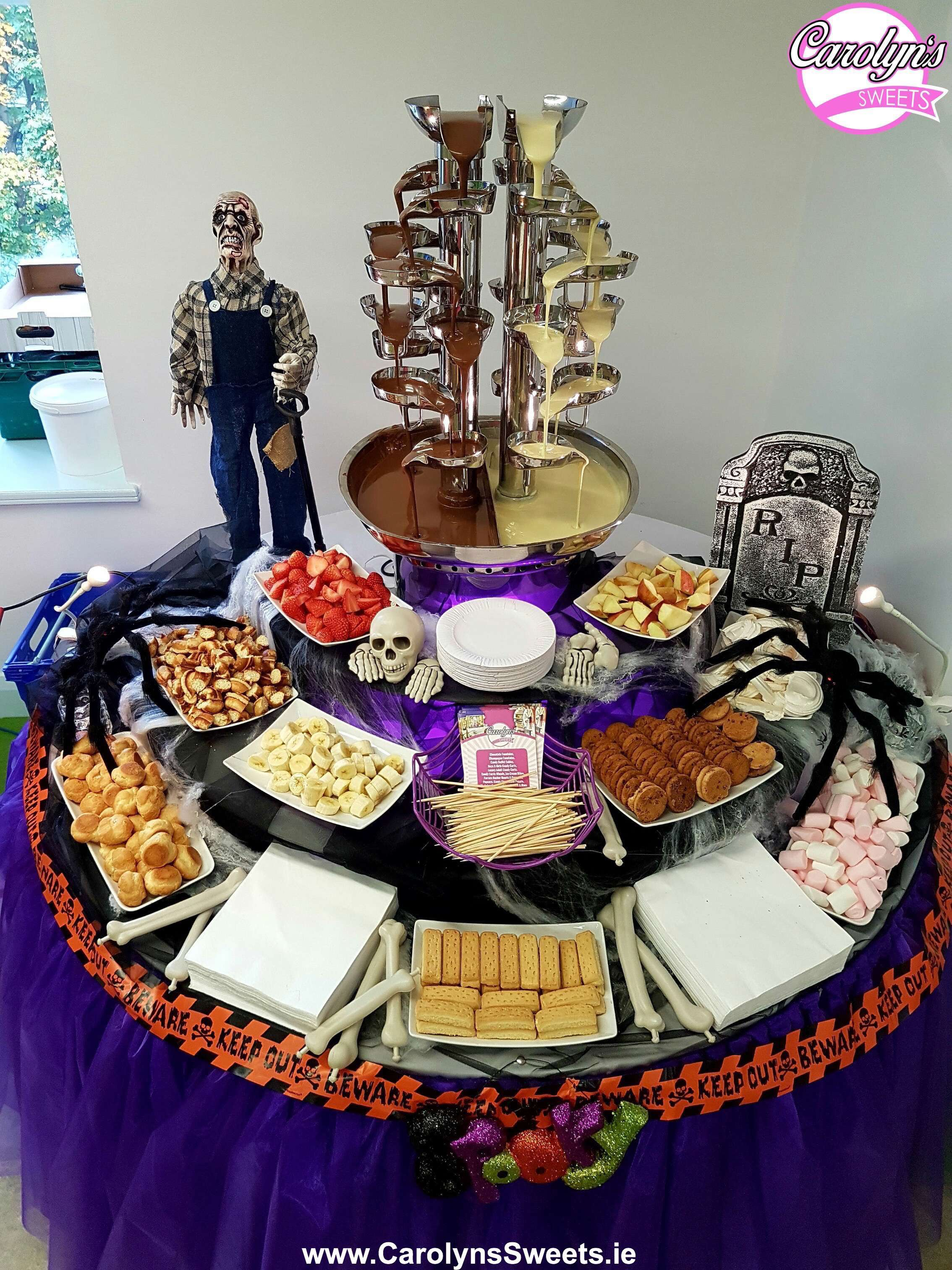 Double Chocolate Fountain Hire3 2
