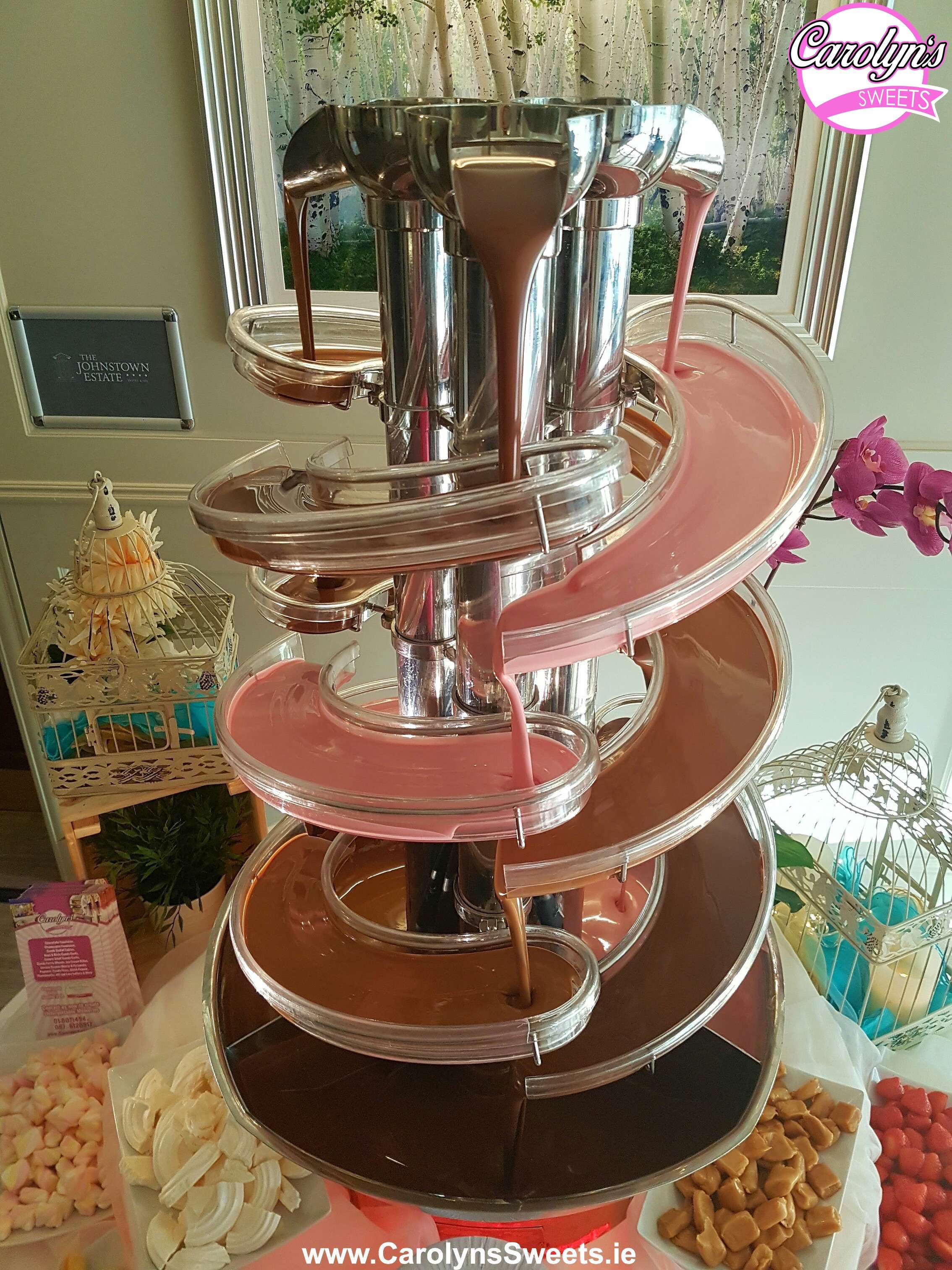 Triple Chocolate Fountain Hire0 2