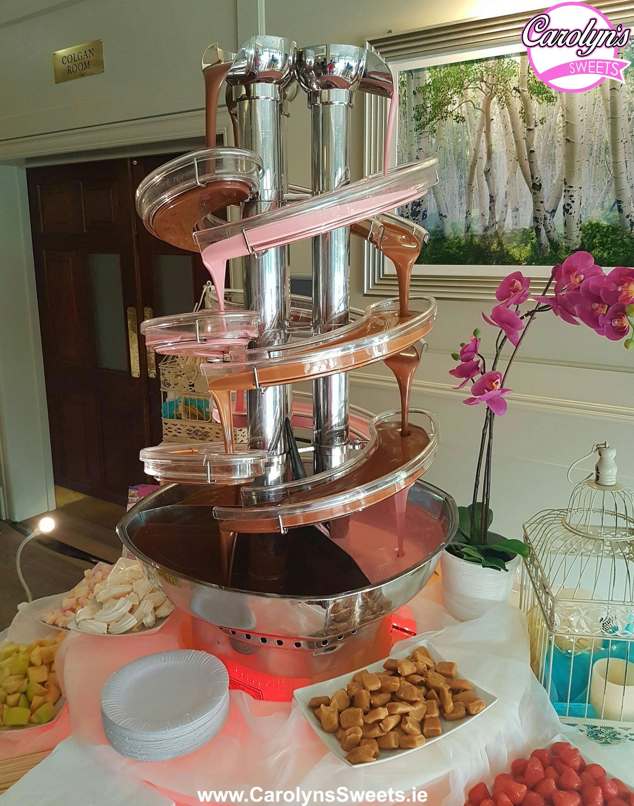 Triple Chocolate Fountain Hire1 2