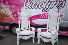 King & Queen Chairs